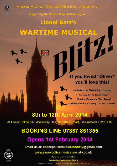blitz the musical Later as tp moved into theatre consulting, david was responsible for a host of  innovations in sound installations across britain blitz the lionel bart musical, .