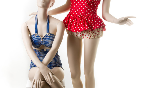 Beauty and the Beach  Swimwear from 1940-1969