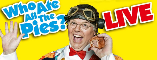 Roy Chubby Brown who ate all the pies