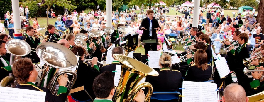 TILBURY BRASS BAND PTAIT  Southend Bandstand Priory Park