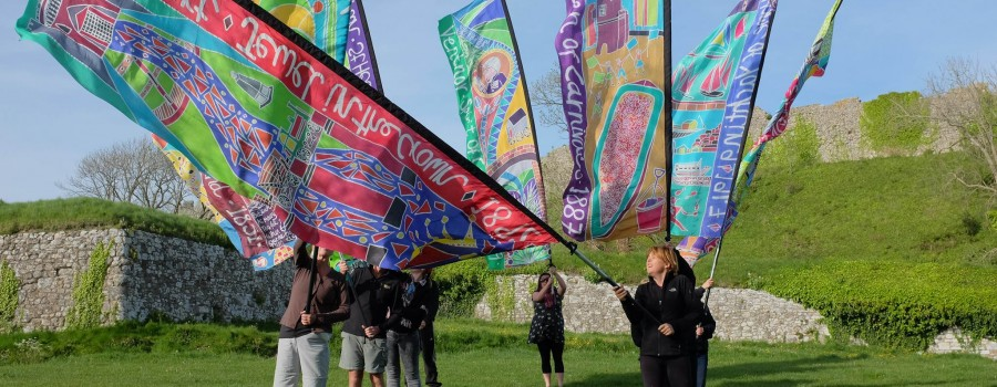 river crouch festival flags