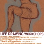 Life Drawing Autumn 2015 flyer