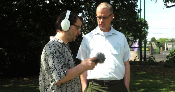 IDEA13 TV: Interview with MATMOS NetPark Commission Chalkwell Park Southend on Sea