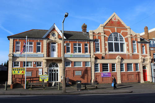 leigh community centre buidling