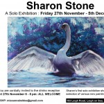 sharon Stone at Miss Annabel Dee Gallery Leigh on Sea